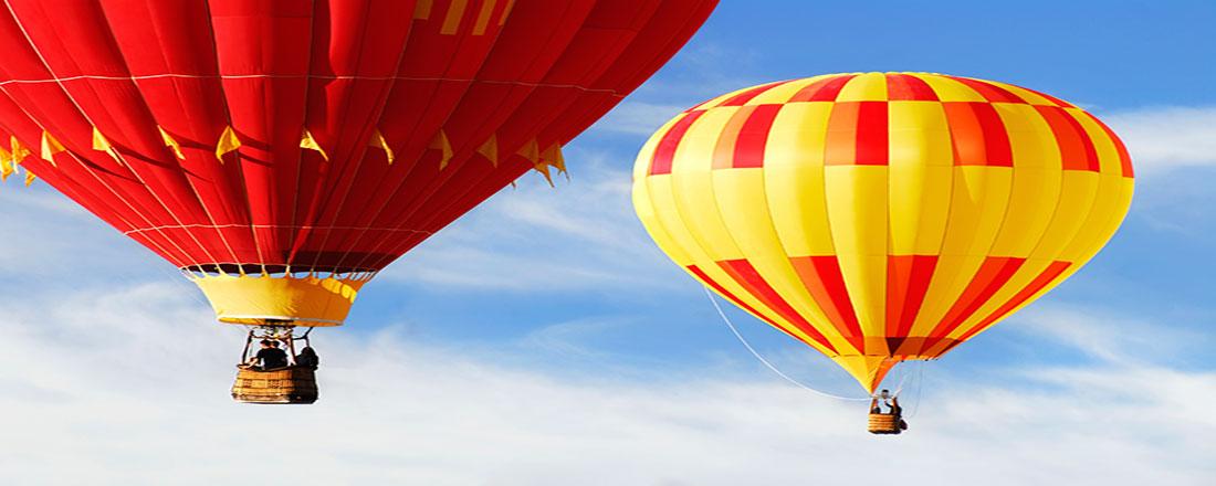 Les montgolfières. L'évasion par les airs.